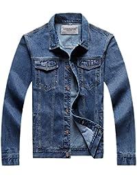 Amazon.com: 3XL - Denim / Lightweight Jackets: Clothing, Shoes ...