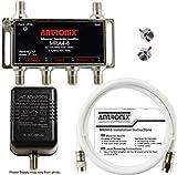 4-Port Cable TV/Antenna/HDTV/Internet Digital