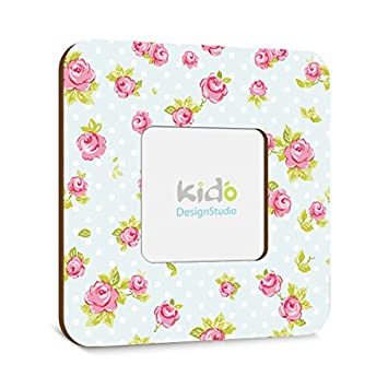 Amazon.com : Nursery Picture Frame, Baby Girl Photo Frame Floral ...