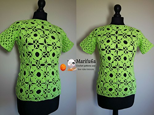 crochet lime top all sizes: crochet lime top all sizes