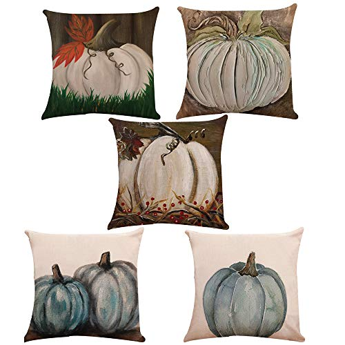 1 Set of 10pcs Models Linen Pillows Sofa Bedroom Pillowcase Halloween Pumpkin Linen Pillowcase Home Decoration Office Pillow Pillowcase Factory Price -