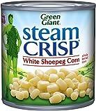 Green Giant Steam Crisp, White Shoepeg Corn, 11 Ounce