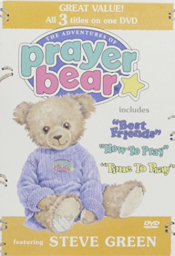 The Adventures of Prayer Bear: 3 Volume Set: Best Friends/How to Pray/Time to Pray