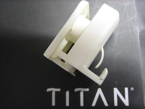 Titan Gancho Inferior Box Viva mampara de Ducha Recambio: Amazon.es: Hogar
