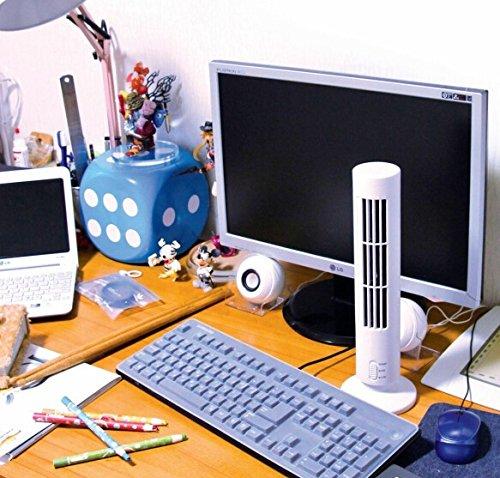 Dragonpad® USB Mini Tower Desk Fan Cooling Computer Noteboo