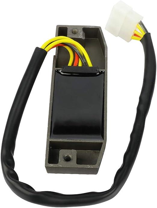 TUPARTS 32800-12E01 Voltage Regulator Rectifier Replacement Rectifier Fit for 2005-2009 S-uzuki Boulevard 1992-1995 S-uzuki DR650SE 1996-2004 S-uzuki Intruder 1400 1996-2004 S-uzuki Intruder 800