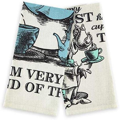 Katie Alice Highland Fling 100/% Cotton Tea Towel in Tin Set