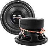 Car Woofer, Black 8 Inch 600w Max Subwoofer Speaker 4 Ohm Dvc Woofer Car Audio