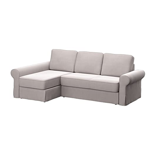 Soferia IKEA BACKABRO sofa cover with chaise longue Elegance
