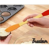 Bruntmor Peanut Butter, Cheese & Jelly Spreader High Quality, Silicone