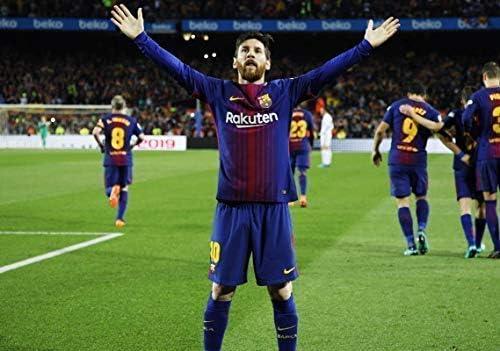 Desconocido Lionel Messi FC Barcelona la Liga España Fútbol Póster ...