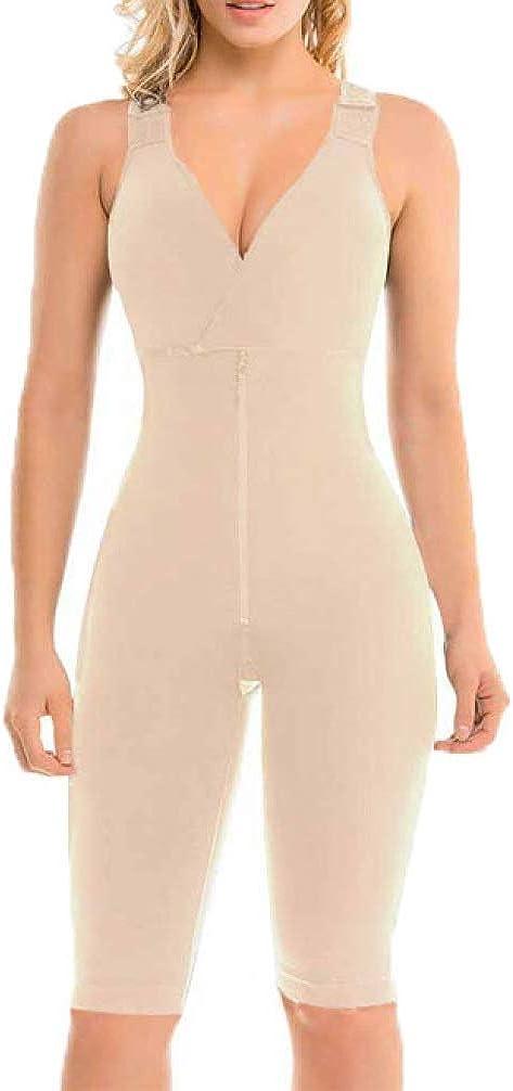 Full Body Shaper Women Seamless Slimming Postpartum Tummy Control Bodysuit Butt Lift Shapewear Plus Size Waist Trainer