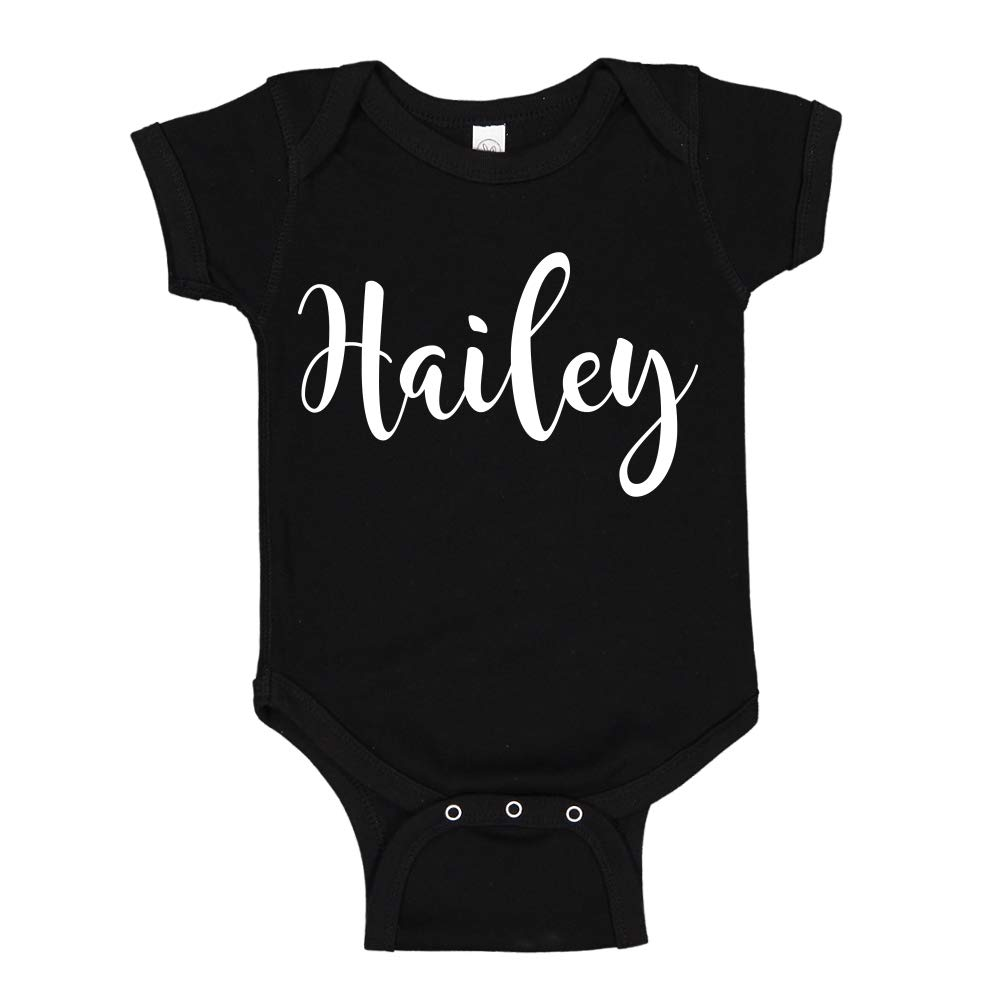 Mashed Clothing Hello Personalized Name Toddler//Kids Sweatshirt My Name is Hailey