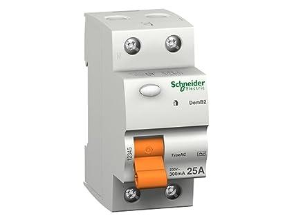Schneider electric 15245 - Domae interruttore differenziale sensibilità, 30ma, 2p, ca (40 a): Amazon.it: Commercio, Industria e Scienza