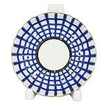 """Lomonosov Porcelain Jam Jelly Marmalade Dish Cobalt Cell 3.9"""""""