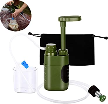PQZATX Conjunto Purificador de Agua al Aire Libre Sistema de ...