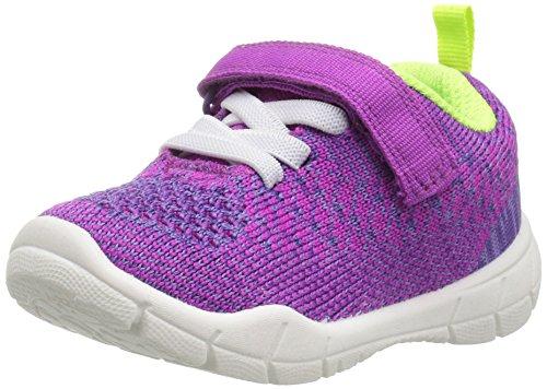 carter's Swipe Unisex Athletic Sneaker, Purple, 10 M US Toddler