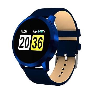 Q-H-W Rastreador de Ejercicios, función Deportiva estándar Pantalla en Color Reloj Despertador Recordatorio Anti-perdida Pulsera Bluetooth Asistente de ...