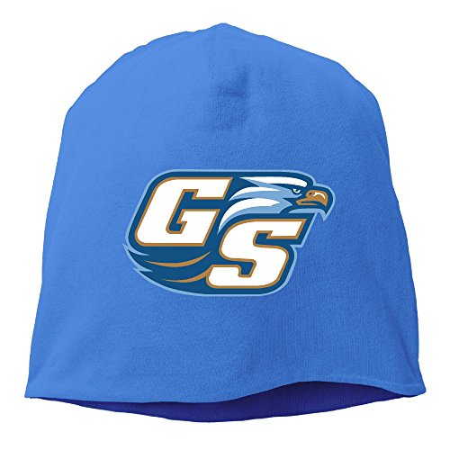 Caromn Georgia Southern University Beanies Skull Ski Cap Hat RoyalBlue (Bald Skull Cap Costume)