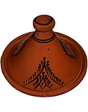 Moroccan Large Lead Free Cooking Tagine by Cooking Tagines