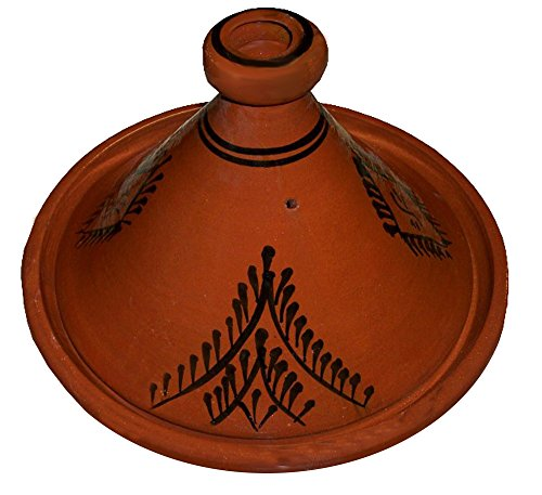 Moroccan Lead Free Cooking Tagine 100% handmade Clay - Cast Iron Tagine