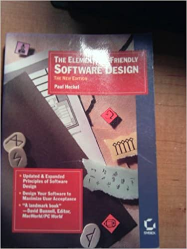 The Elements of Friendly Software Design