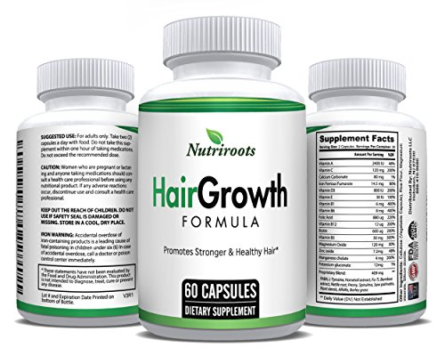 Natural Hair Loss Treatment For Men Women Stimulate Hair Growth Prevent Hair Loss And Thinning Fuller Thicker Healthy Hair With More Volume