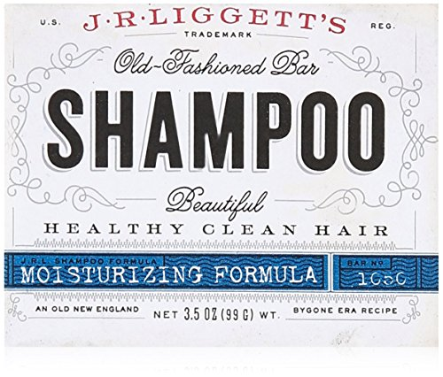 J.R. Liggett Bar Shampoo Moisturizing Hair Formula (Bar Shampoo For Colored Hair)