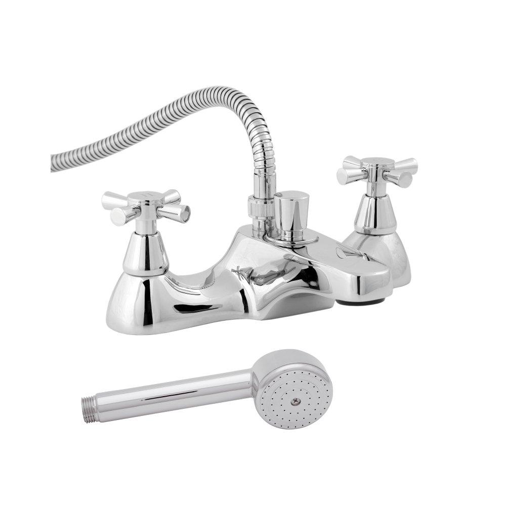 Deva MILAN 106 Milan Deck Mounted Bath Shower Mixer Tap with Chrome Finish Methven