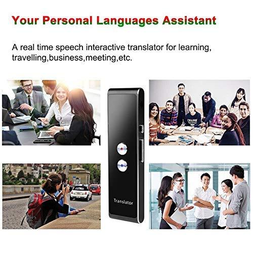 Argent Baifeng Translaty Smart Instantan/é Temps R/éel Portable Voix Traduction Translator