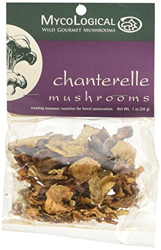 Mycological Dried Chanterelle Mushrooms, 1 Ounce -