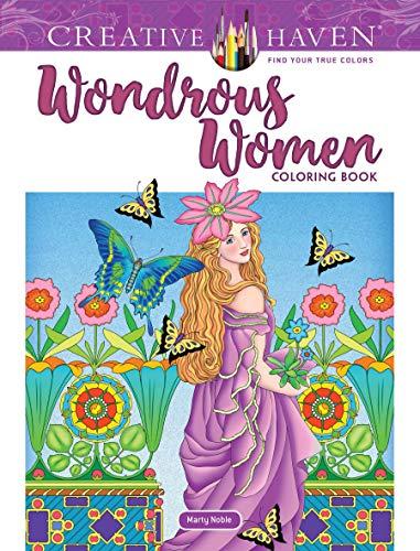 Creative Haven Wondrous Women Coloring Book