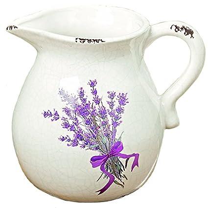 Materiale Per Shabby Chic.Arredamento Decorazione Brocca Caraffa Vaso Decorativo