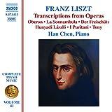 Liszt: Transcriptions of Opera Works