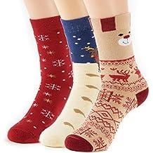 Natural Underwear Socks Healthy Bamboo Thermal Crew Socks Kids Women Men 3 Pack