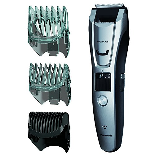 Price comparison product image Panasonic ER-GB80-S Body and Beard Trimmer, Hair Clipper, Men's, Cordless/Corded Operation with 3 Comb Attachments and and 39 Adjustable Trim Settings, Washable