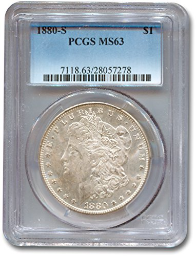 1880 S Morgan Dollar PCGS MS-63