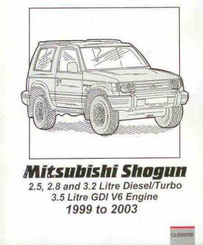Pocket Mechanic for Mitsubishi Shogun/Pajero/Montero, 3.5 Litre GDI, 2.5, 2.8, 3.2 Litre Diesel: 1999-2003