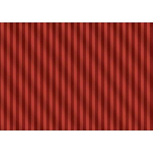 Susy Card 11428919 carta da regalo di natale 1,5 m, motivo: strisce rosso 5m Pelikan