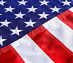 United Flags Co. USA Deluxe 4x6 Ft American Flag With Embroidered Stars