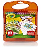 Crayola Twistables 65-Piece Colored Pencils and Paper Set