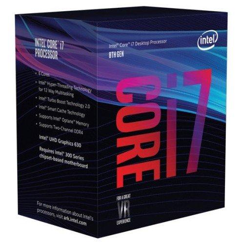 Intel CPU Core i7-8700