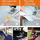 LELIFE Sewing Clips for Fabric Mini Clips,Assorted