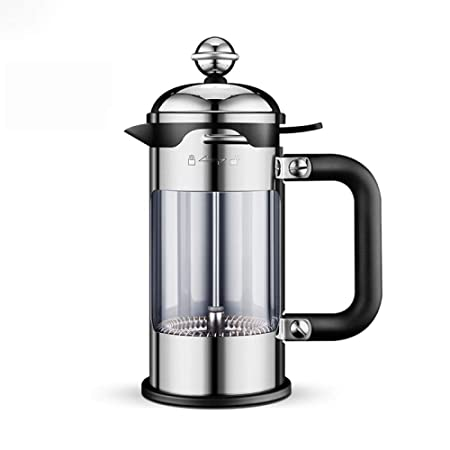 Hokaime Olla de presión de Proceso de 50 ml / 600 ml / 1000 ml / 1500 ml cafetera de Acero Inoxidable cafetera doméstica Tetera Filtro de café Manual, 1000 ml: Amazon.es: Hogar