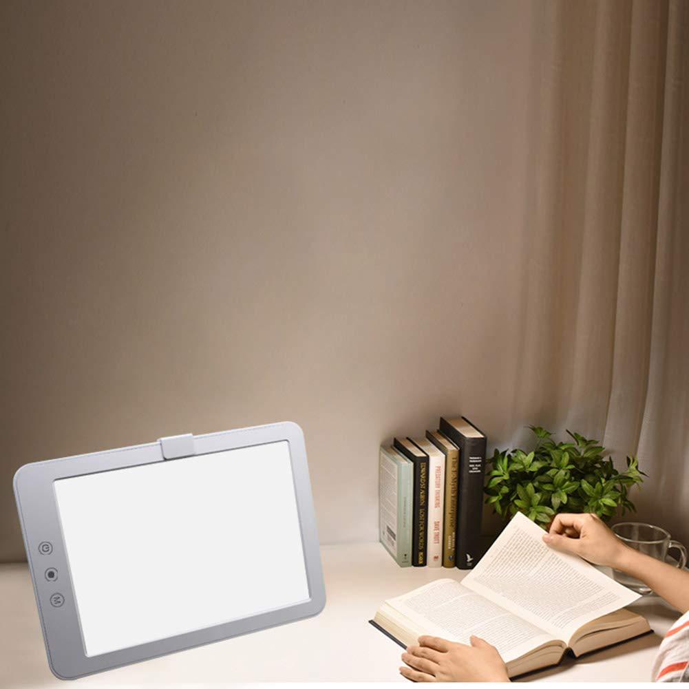 Lámparas De Fototerapia SAD - SAD Terapia De Luz Para El Trastorno Afectivo Estacional - Lámpara De Mesa LED: Amazon.es: Bricolaje y herramientas