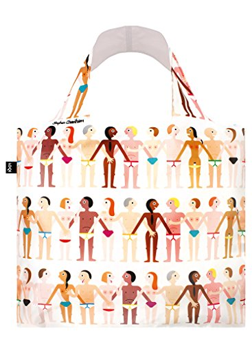 LOQI STEPHEN CHEETHAM Sexy Bag - Einkaufstasche