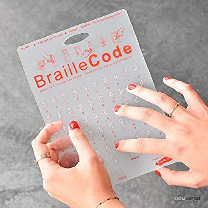 Braille código - stilic Force: Amazon.es: Oficina y papelería