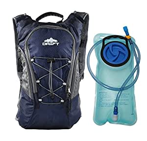 Hydration Backpack with 2 Liter Water Bladder Fits Men & Women & Children for Running Marathon Racing Hiking Backpacking Hunting Camping Cycling Walking Climbing Kayaking Outdoor Survival