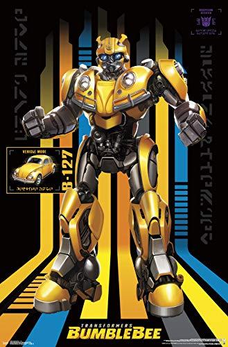 Trends International Transformers: Bumblebee-127 Mount Wall Poster, 22.375