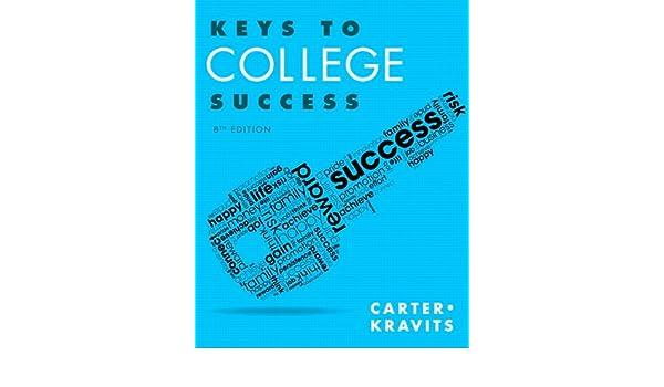 Keys to College Success Plus NEW MyStudentSuccessLab Update ...